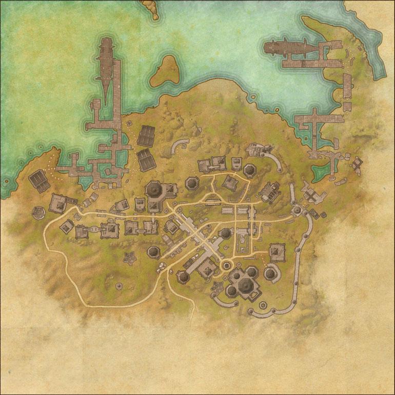 TES Online, Map of Alik\'r Desert