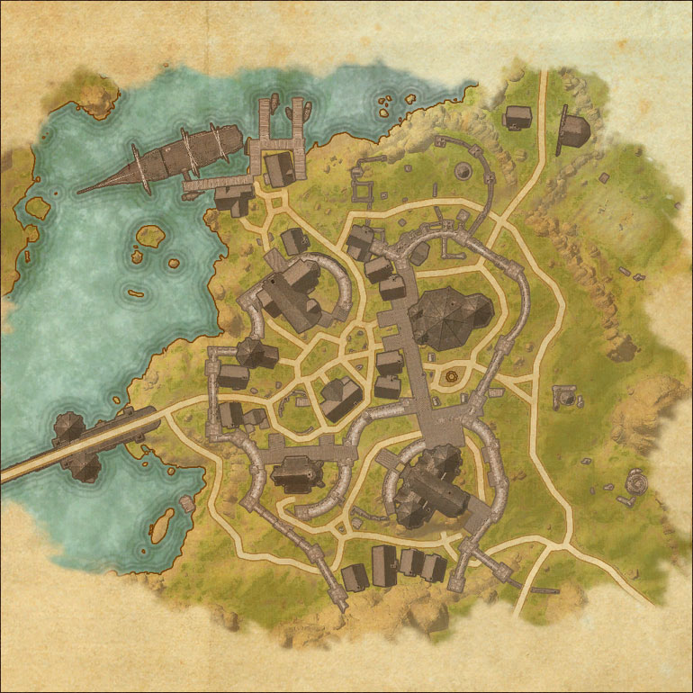 Map of Evermore