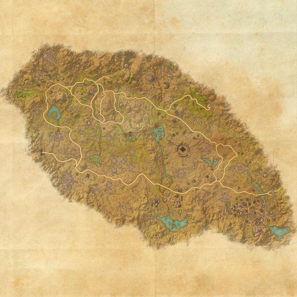 TES Online, Map of Craglorn