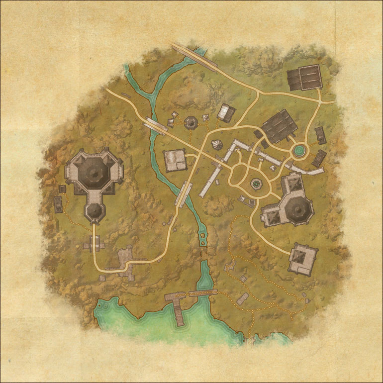 TES Online, Map of Craglorn