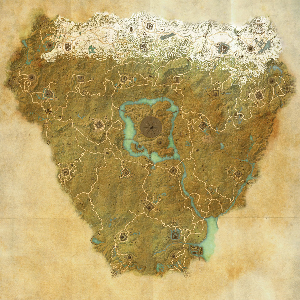 Map of Cyrodiil