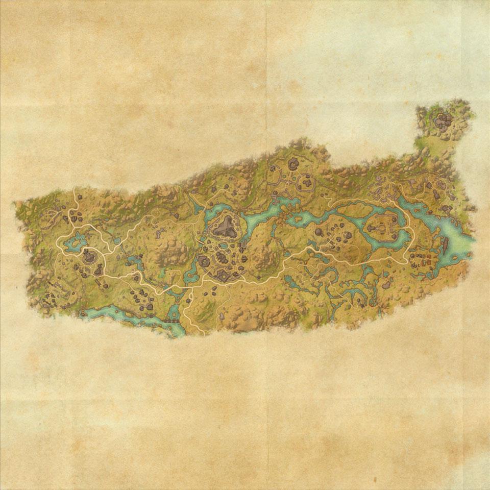 TES Online, Map of Deshaan