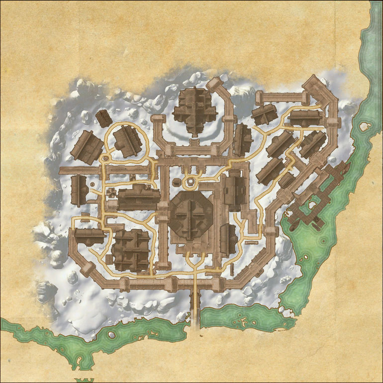 Map of Windhelm