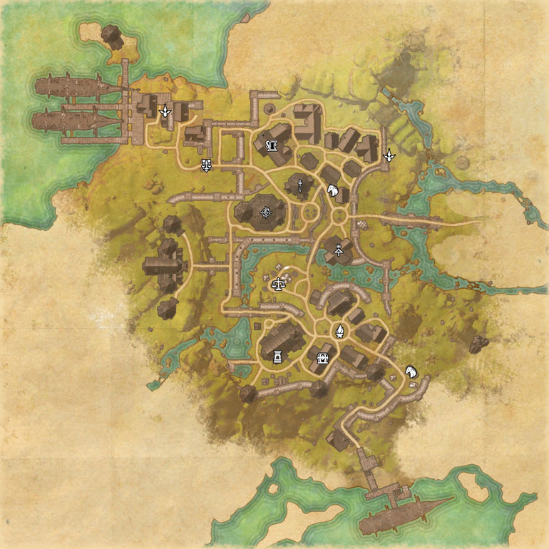 TES Online, Map of Glenumbra