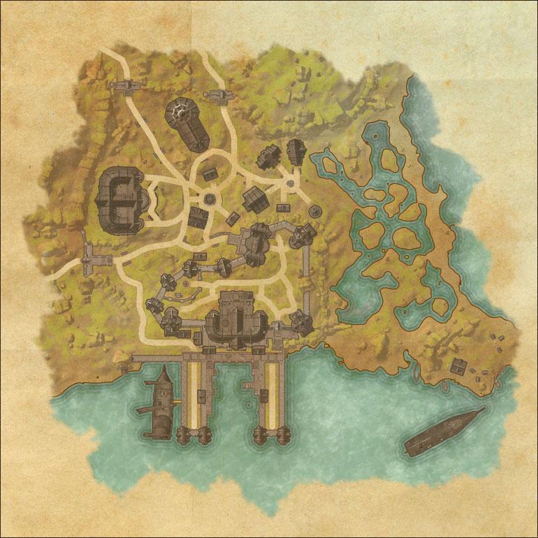 The Elder Scrolls Online, Map of Grahtwood
