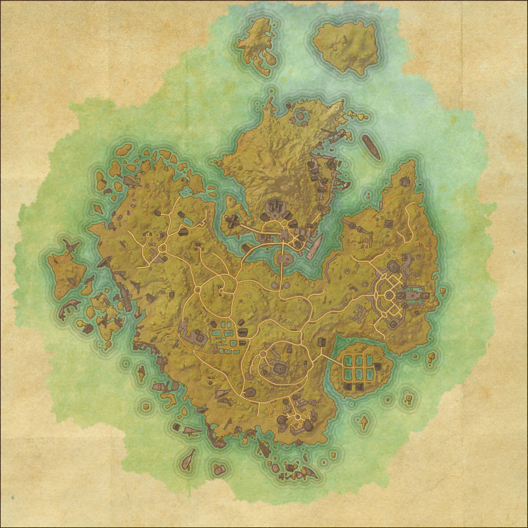 TES Online, Map of Khenarthi\'s Roost