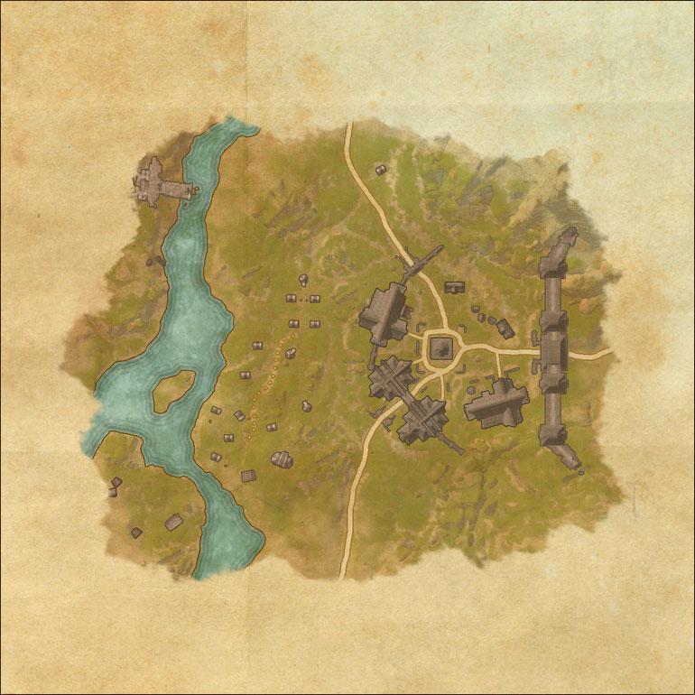 Tes Online Map Of Malabal Tor