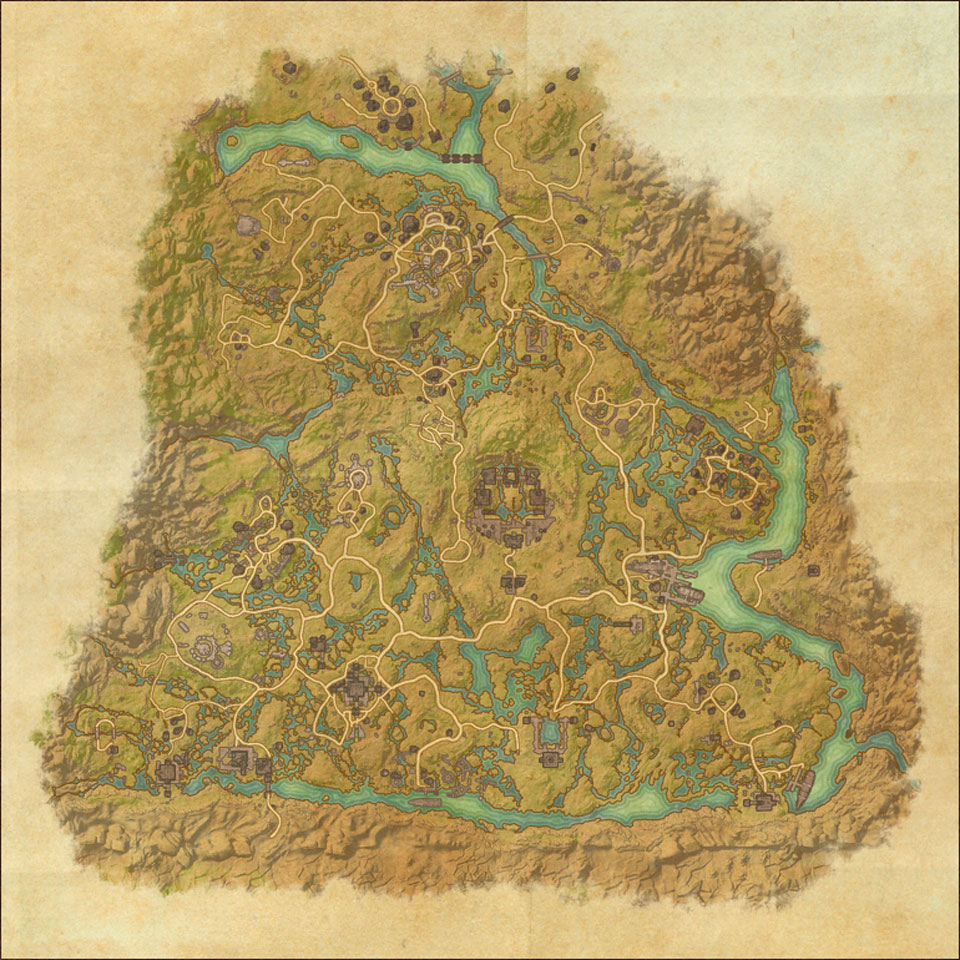 TES Online, Map of Shadowfen