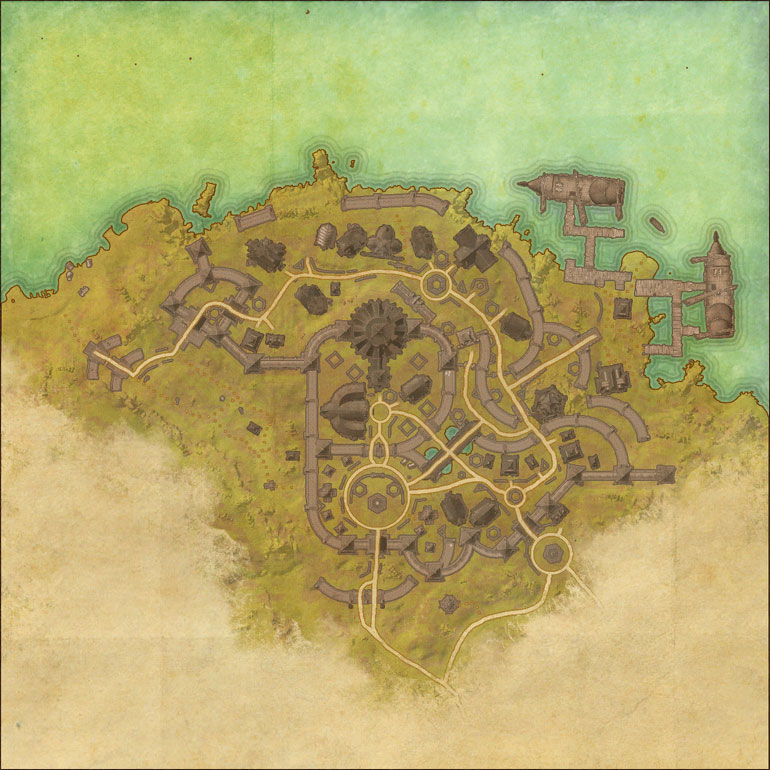 TES Online, Map of Stonefalls
