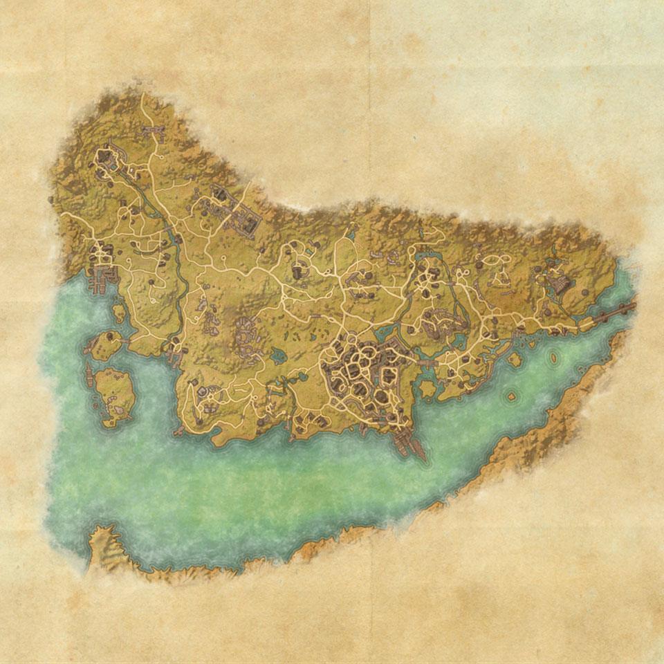 TES Online, Map of Stormhaven