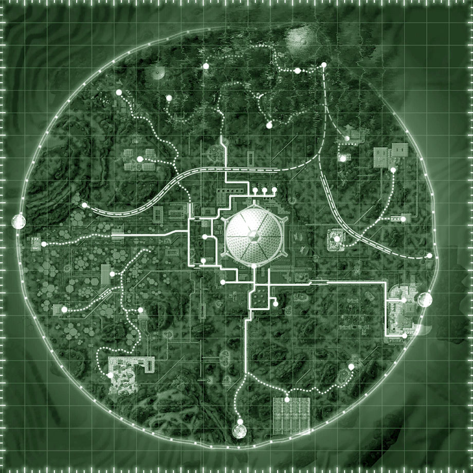 Fallout Las Vegas Map.Fallout New Vegas Old World Blues Interactive Map